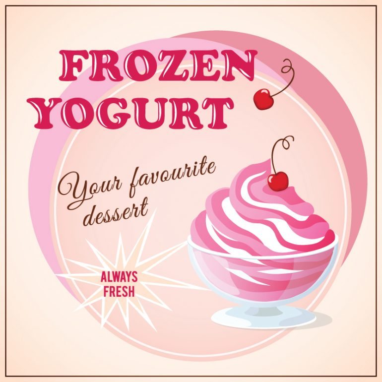 self serve frozen yogurt machines