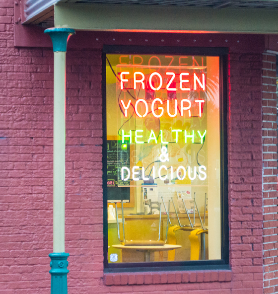 self serve frozen yogurt machines