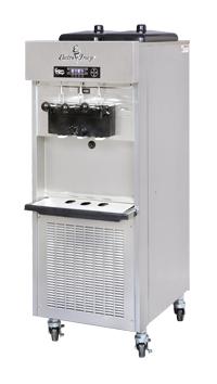 gravity or pressurized ice cream machine
